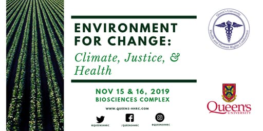 Environment for Change: Climate, Justice, and Health