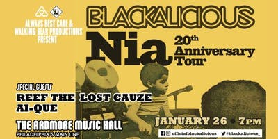 Blackalicious w/ Reef The Lost Cauze