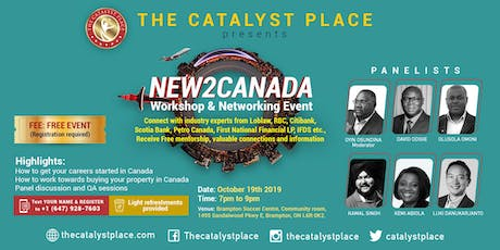 New2Canada workshop and networking event tickets