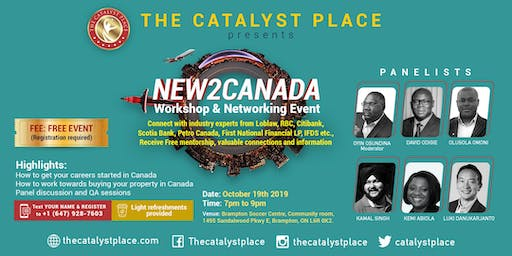 New2Canada workshop and networking event