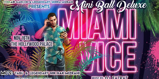 Miami Vice Mini Deluxe Ball