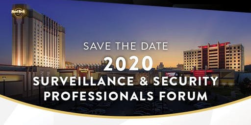 2020  Surveillance & Security Professional Forum