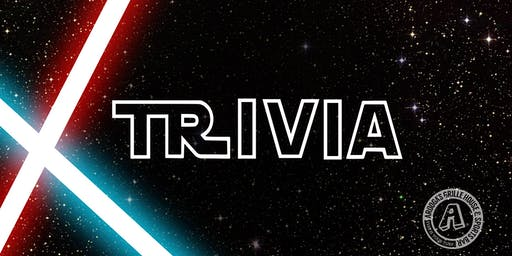 Arooga's Warwick'Star Wars' Trivia Night - Win Great Prizes