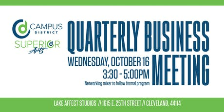Campus District Quarterly Business Meeting tickets