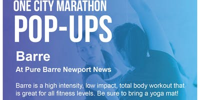 Free Barre Fitness Class- One City Marathon Community Event