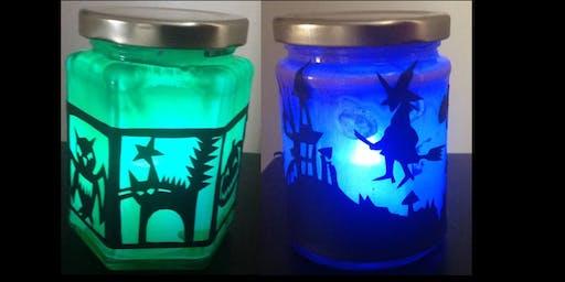 Spooky Halloween Jars for Children