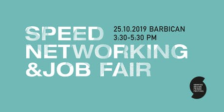 Service Design Fringe Festival 2019 | Speed Networking & Job Fair tickets
