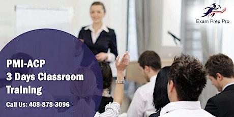 PMI-ACP 3 Days Classroom Training in Orlando,FL tickets