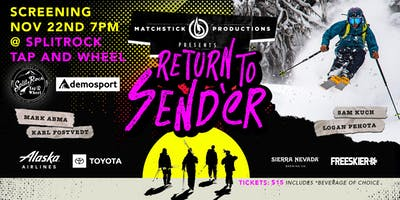 RETURN TO SENDER   /    Produced by :  MATCHSTICK PRODUCTIONS