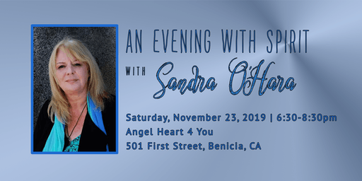 "Sandra O'Hara ""An Evening with Spirit"" (Mediumship Event) Nov 23"