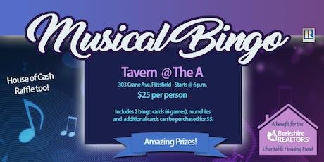 Musical Bingo FUNdrasier! tickets