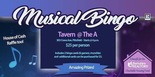 Musical Bingo FUNdrasier!