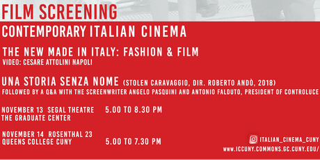 Part II: Contemporary Italian Cinema tickets