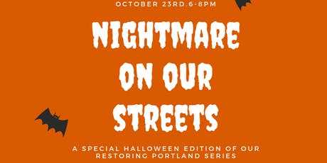 Nightmare On Our Streets:  An Architectural Gothic Story tickets