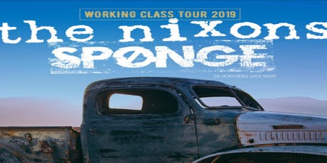 Sponge / The Nixons tickets