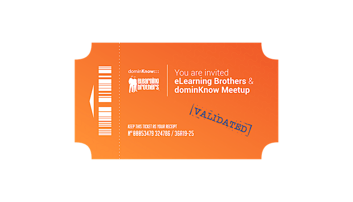 dominKnow & eLearning Brothers Meetup at DevLearn image