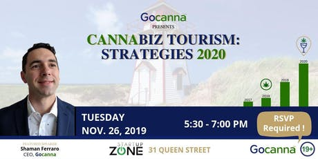 Cannabiz Tourism: Strategies 2020 tickets