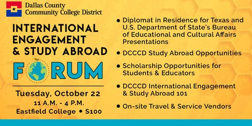 International Engagement & Study Abroad Forum Fall 2019