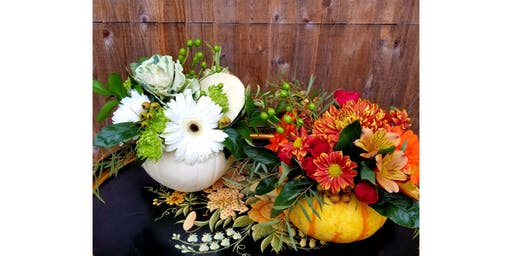 11/26 - Thanksgiving Sip & Centerpiece @ Ambassador Winery, Woodinville