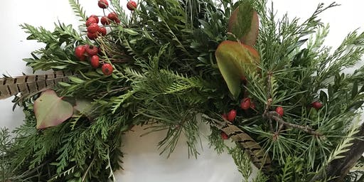 Holiday Evergreen Wreath Workshop: November
