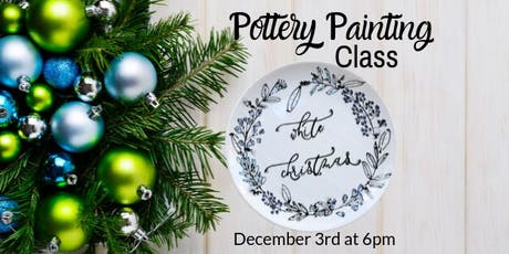 Pottery Painting Class - Dec 3 tickets