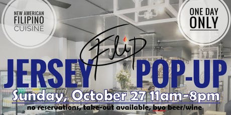 Flip Eats: A Jersey Filipino Pop-up @ Happy Belly tickets