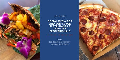 Social Media Dos and Don'ts for Restaurants & Industry Professionals tickets