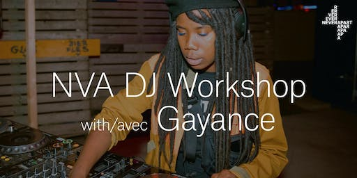 DJ Workshop with Gayance
