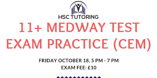 11+ MEDWAY TEST Practice Exam