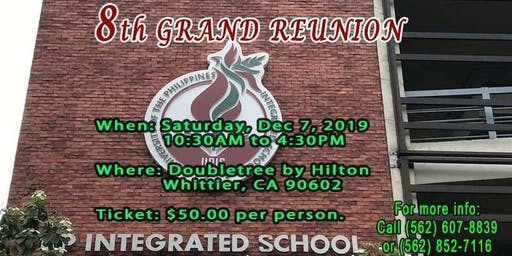 8TH ANNUAL GRAND REUNION OF UPHPEIS-AANA