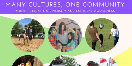 Many cultures, one community.  Youth retreat on diversity and cultural awareness tickets
