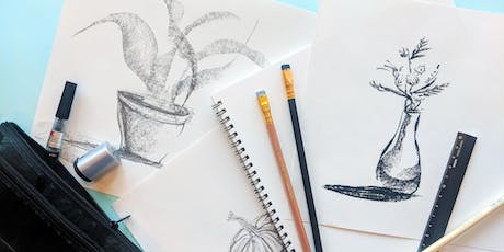 Intro to Drawing Workshop : Still Life & Mark-making tickets