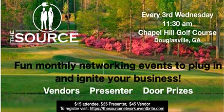 The Source Professional Networking Group  tickets