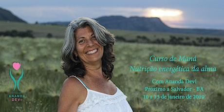 Curso de Maná Salvador - a nutrição da alma que sacia a fome emocional ingressos