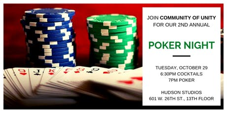 Community of Unity's 2nd Annual Poker Night and Fundraiser tickets