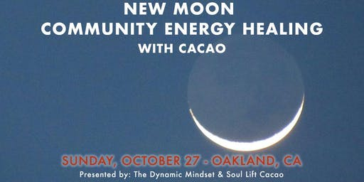 New Moon Community Energy Healing with Cacao