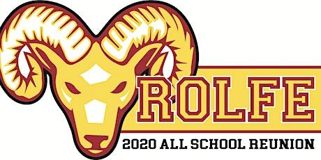 Rolfe All School Reunion 2020 tickets
