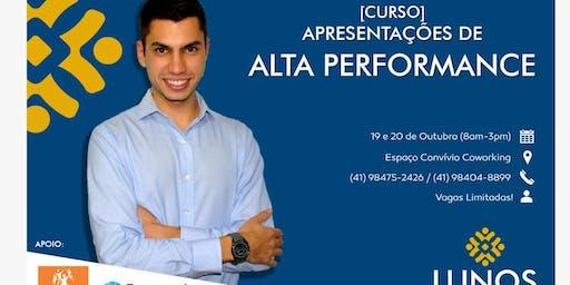 Curso - Apresentações de ALTA PERFORMANCE