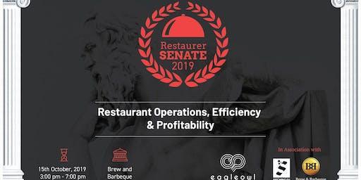 Restaurer Senate 2019- Organised by Eagleowl