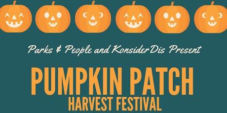 Pumpkin Patch Harvest Festival tickets