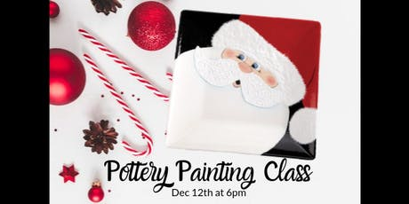 Pottery Painting Class - Dec 12 tickets