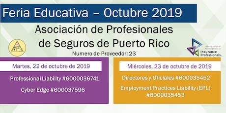 Feria Educativa - Horas contacto OCS entradas