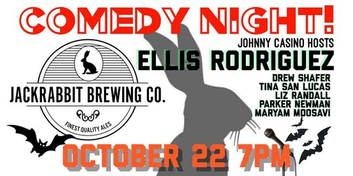 Comedy Night at Jackrabbit Brewing Co.