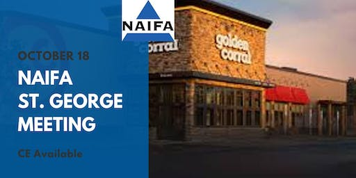 NAIFA St. George October Meeting