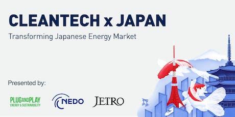 Cleantech x Japan tickets