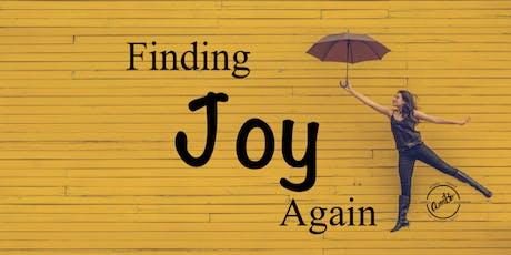 "Finding Joy Again - 5 week ""Morning"" class tickets"