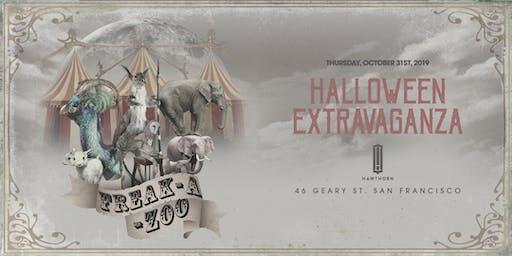 Freak-A-Zoo Halloween Extravaganza - Thursday, October 31st