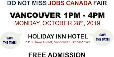 Vancouver Job Fair – October 28th, 2019