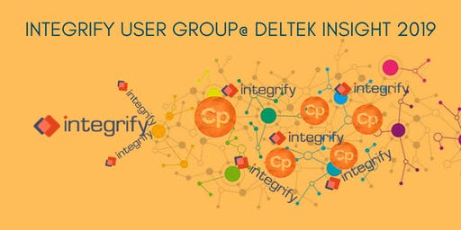 Integrify User Group at Deltek Insight 2019