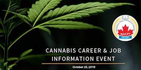 Cannabis Career & Job Information Event tickets